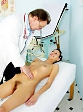 Angela gyno visit to have pussy speculum examined