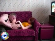 Mature dude enjoys having a gorgeous young pussy all around his dick