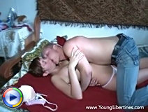 Older lesbian likes them young and entices a sweet young teen to her bed