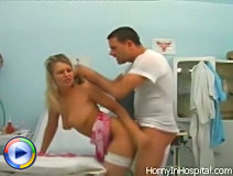 This horny doc is qualified enough to bring this attractive patient the strongest emotions when drilling her pussy