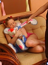 Her wet pussy is always glad to accept new guest