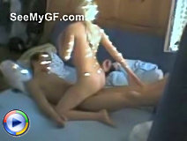 Homemade porn by a really hot blonde girl