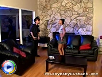 Video of role plays with police and disobedient homie that gets her bang punishment.