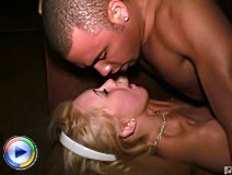 Co-ed does an oral cock massage.