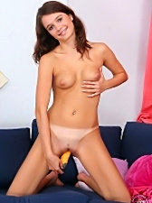 Leona's beautiful body and pinkish pussy are created for the most filthy games and brutal fucking.