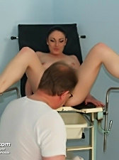 Shandi gynodoctor pussy speculum exam with lots of pussy closeups